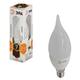 Лампа светодиодная ЭРА,7(60)Вт, цоколь E14, свеча на ветру,тепл. бел., 30000ч, LED smdBXS-7w-827-E14