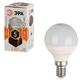 Лампа светодиодная ЭРА,5(40)Вт, цоколь E14, шар,тепл. бел., 30000ч, F-LED Р45-5w-827-E14