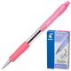 Ручка шариковая масляная автомат. с грипом PILOT Super Grip, СИНЯЯ,розов.детали,линия0,32мм,BPGP-10R