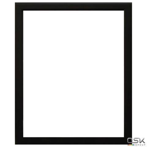 "Рамка премиум 40*50см, пластик, багет 13 мм, ""Maria"", черная, 5052-16-1078"