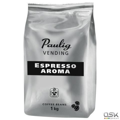 """Кофе в зернах PAULIG (Паулиг) """"Vending Espresso Aroma"""", натуральный, 1000г, вакуумная упаковка,16377"""
