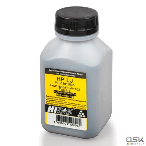 Тонер HI-BLACK для HP LJ P1005/1006/1102/1505/1566, фасовка 85г