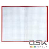 Блокнот А5 (135х206мм), 80л, твердый, клетка, BRAUBERG, Восточный узор, 126053