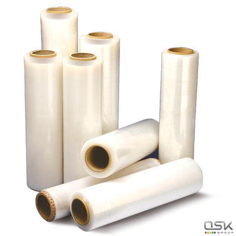 Стрейч-пленка для ручной упаковки 50см х 230м, 15мкм, 1,6кг-нетто, ПЕРВИЧНОЕ СЫРЬЕ, растяжение 300%