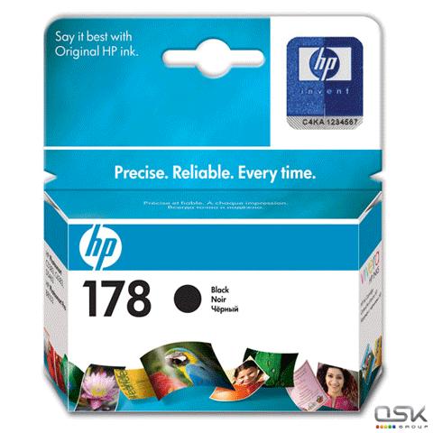 Картридж струйный HP (CB316HE) Photosmart C6383/D5463 №178, черный, ориг., ресурс 250 стр.