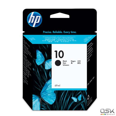 Картридж струйный HP (C4844A) HP Designjet 70/Officejet ProK850 и др №10, черн,ориг,ресурс 2200 стр.