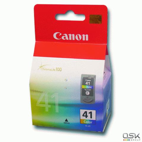 Картридж струйный CANON (CL-41) Pixma iP1200/1600/1700/2200/MP150/160/170/180/210, цветной, ориг.