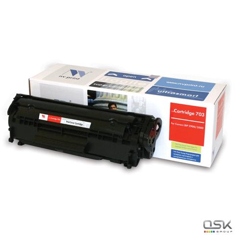 Картридж лазерный NV PRINT (NV-703) для CANON LBP-2900/3000, ресурс 2000 стр